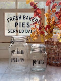 Pantry Ideas for Fall