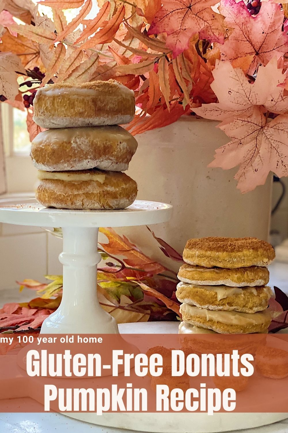 Pumpkin Gluten-Free Donuts are an incredible way to start your day. Nothing says cozy and homey like pumpkin, right?