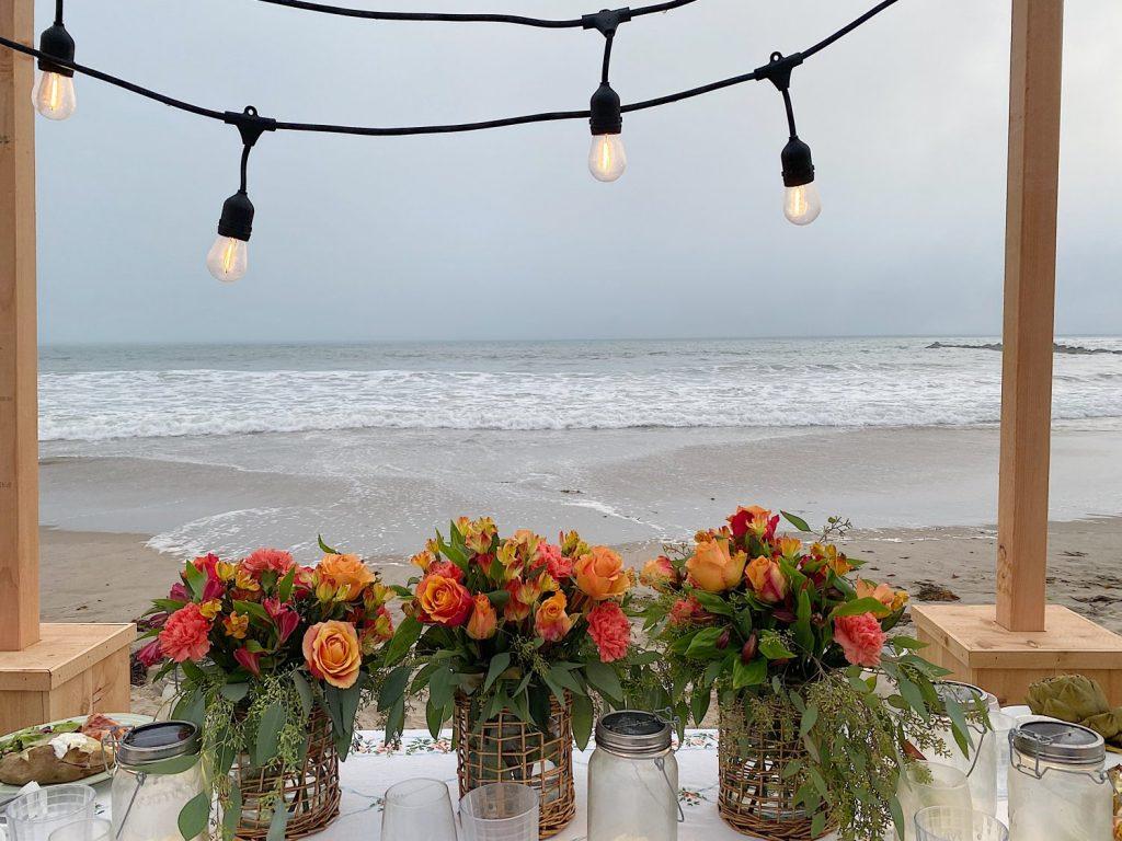 Summer Beach Dinner on the Beach