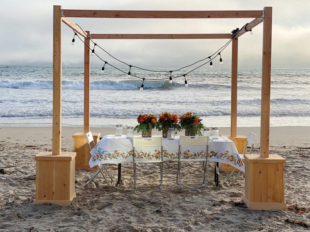 Sunset Dinner on Ventura Beach