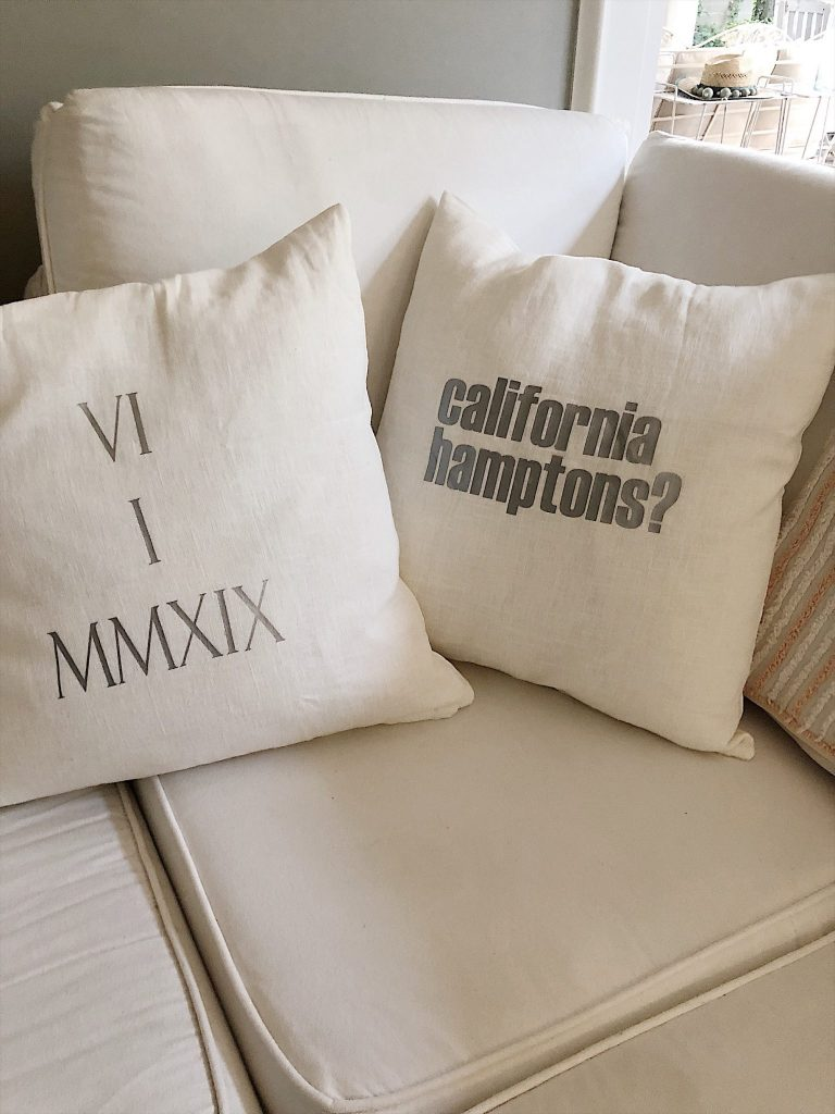 The Final Creative Pillows of the Engagement Party