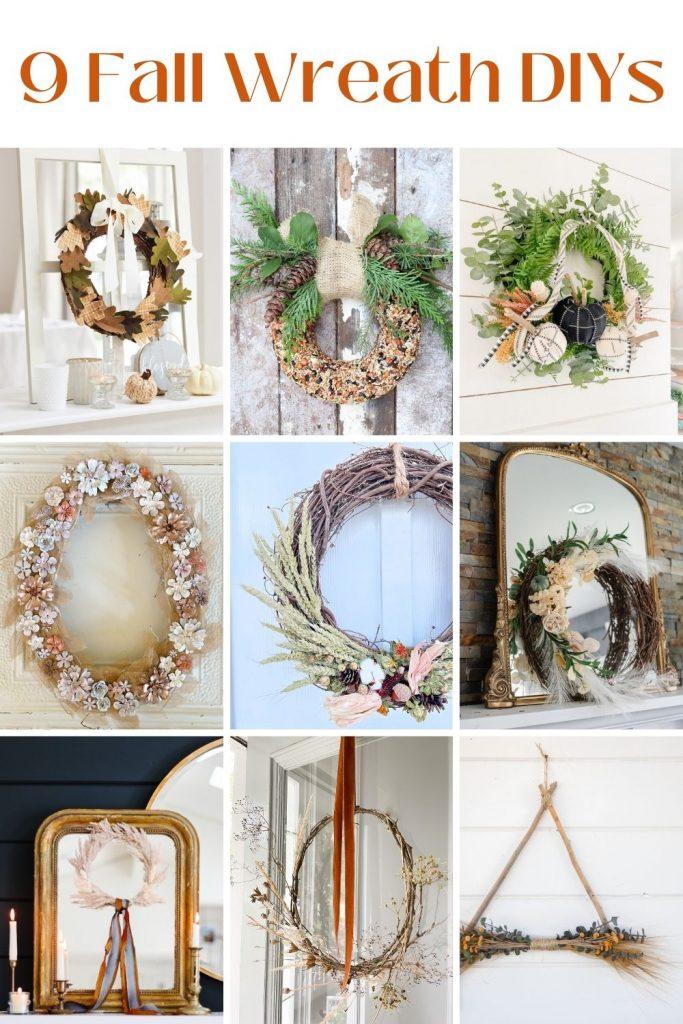9 Fall Wreath DIYs