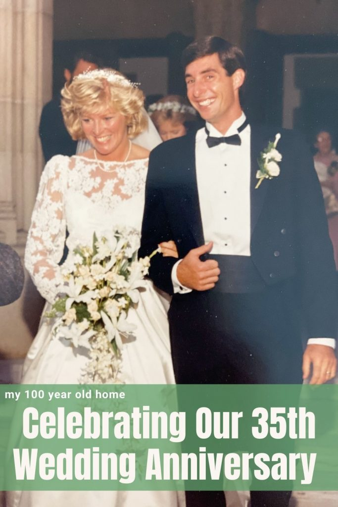 Celebrating Our 35th Wedding Anniversary