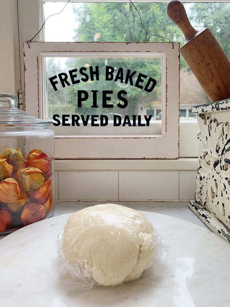 Cranberry and Pear Tart Dough Recipe