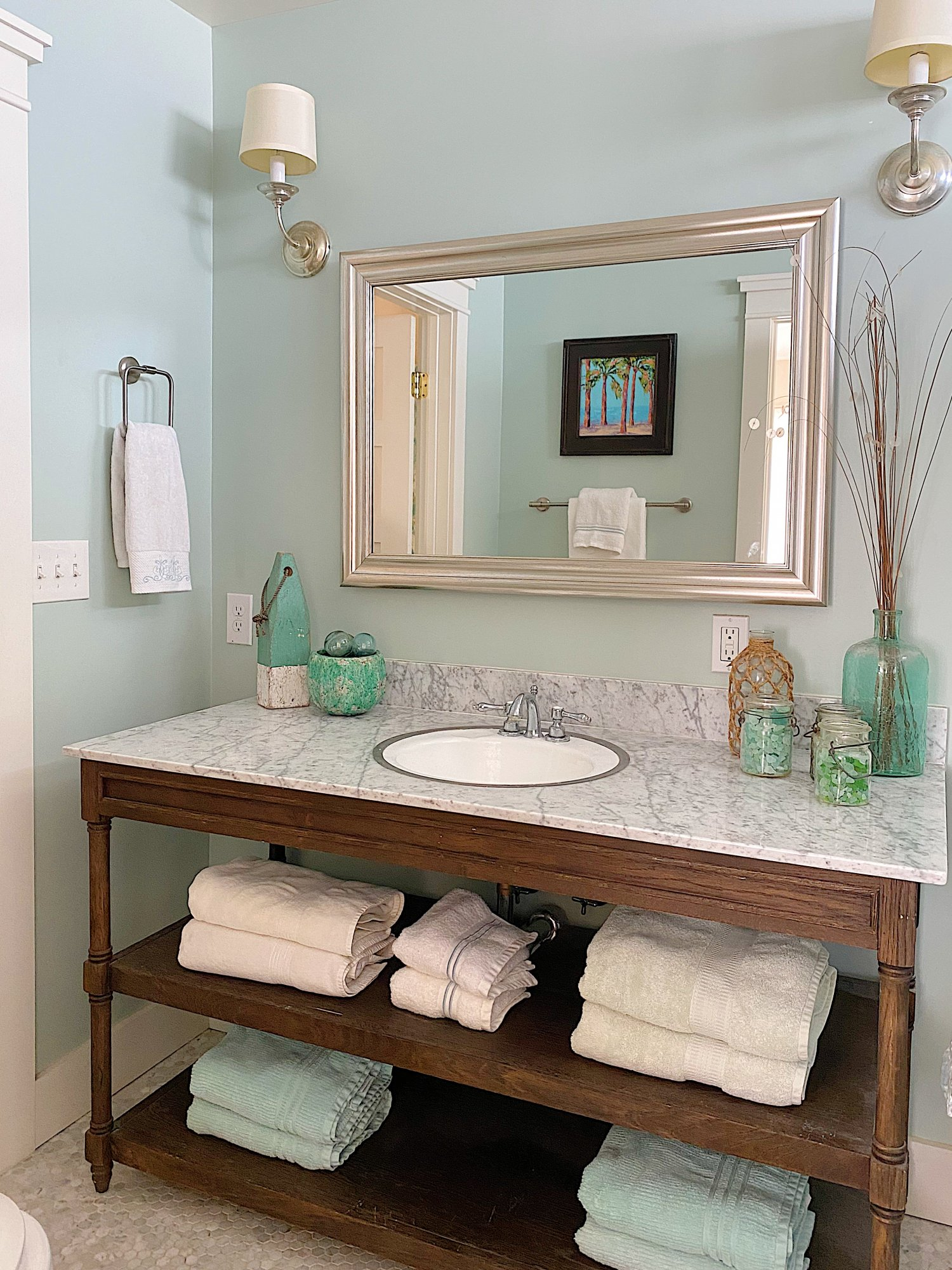 Easy Bathroom Remodel with Liberty Hardware 13