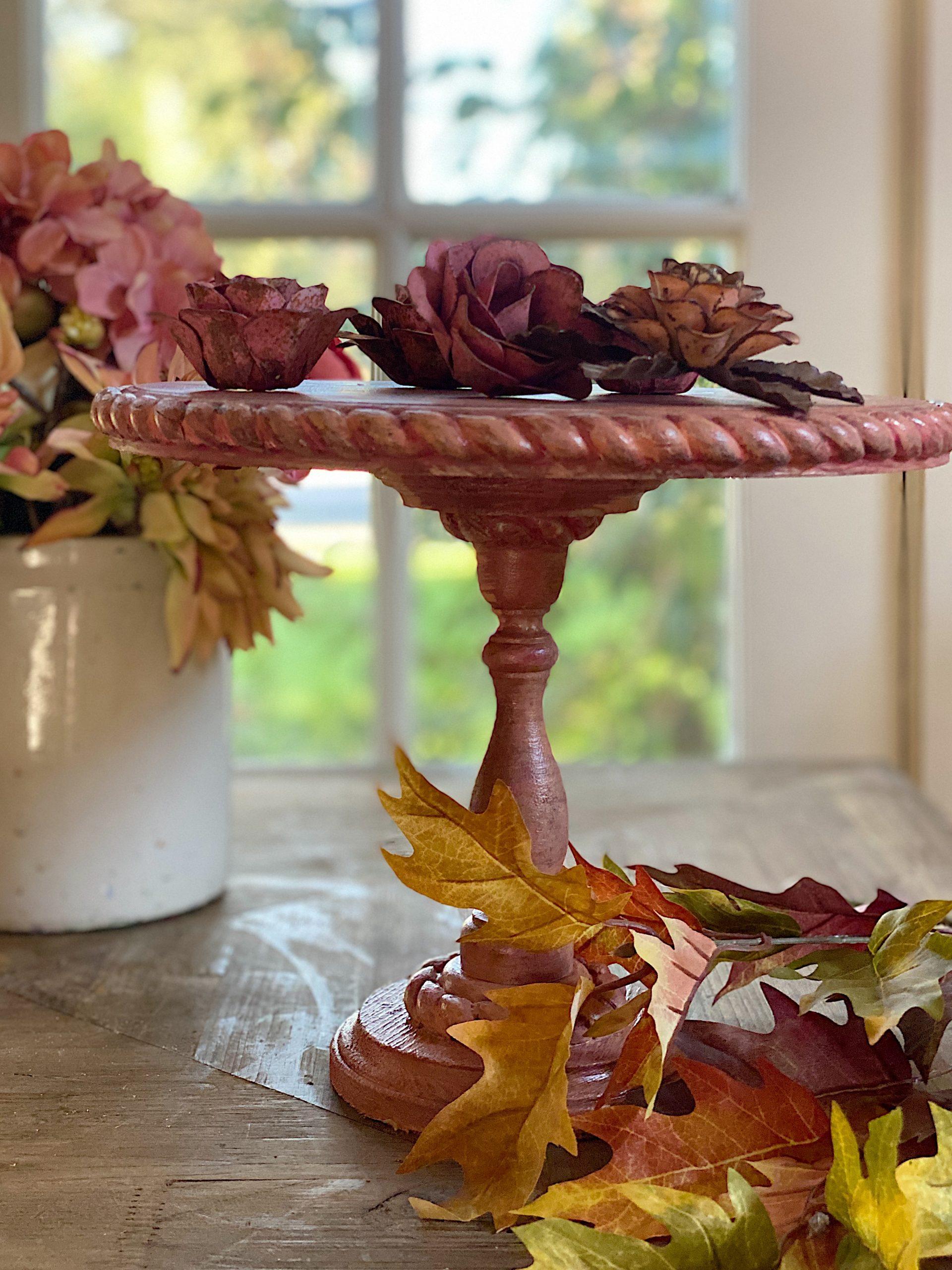 Fall DIY Cake Stand