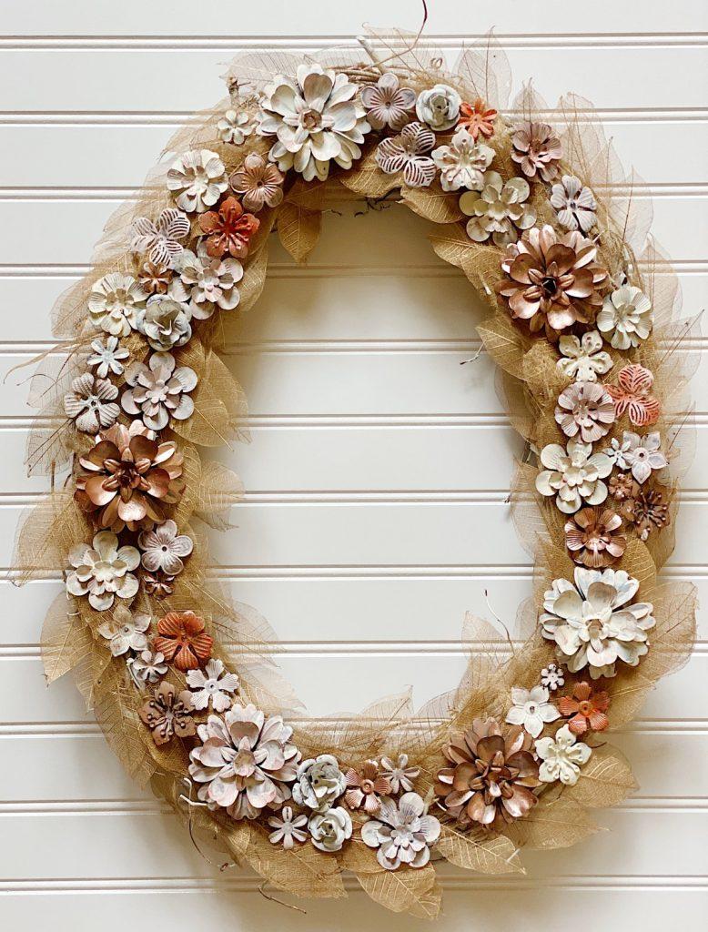 Fall-Metal-and-Leaf-Wreath-DIY-