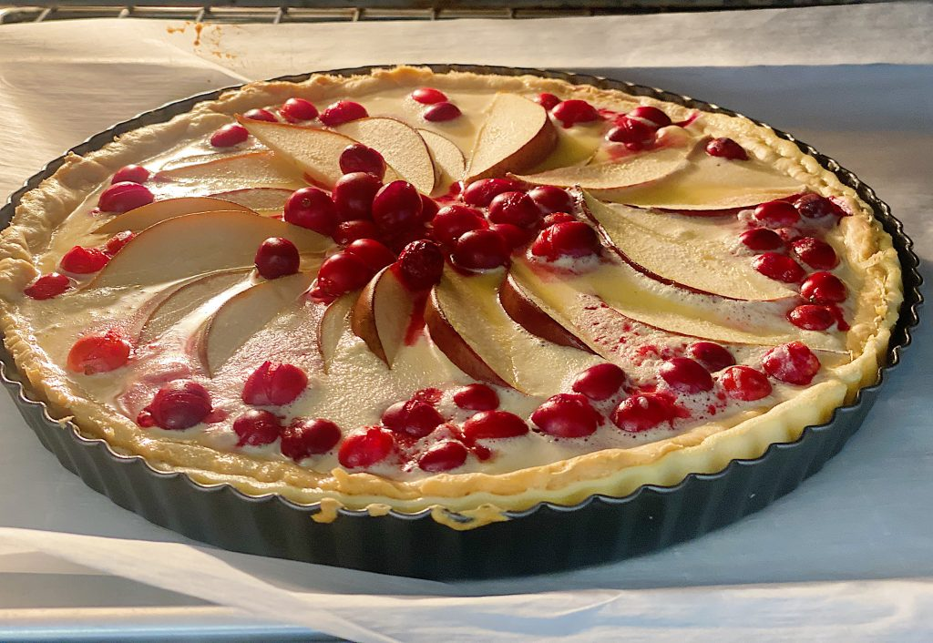 How to Bake a Cranberry and Pear Tart