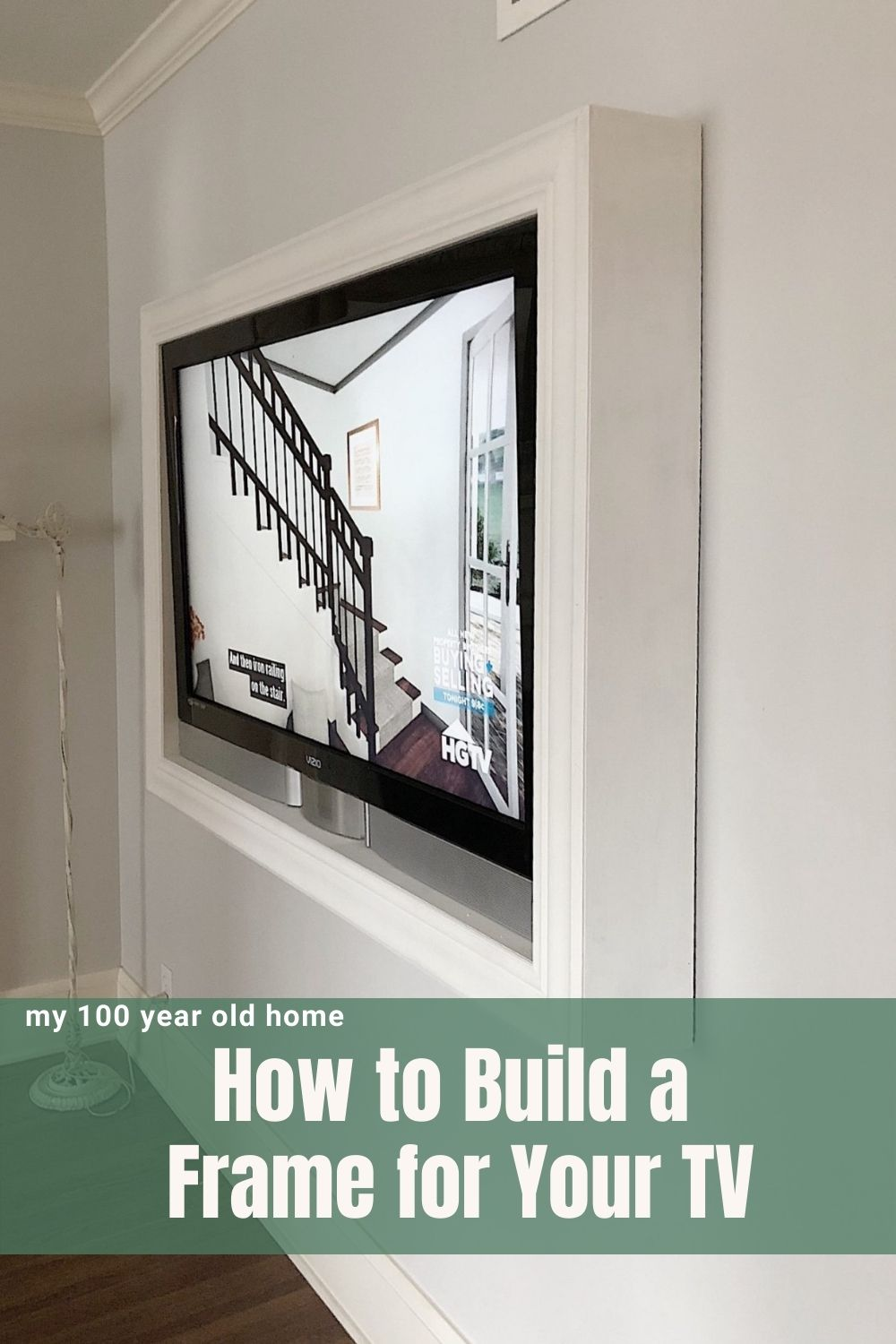 We love watching TV but I often don't love how televisions look in a room. Today I am going to share how to build an inexpensive TV art frame.