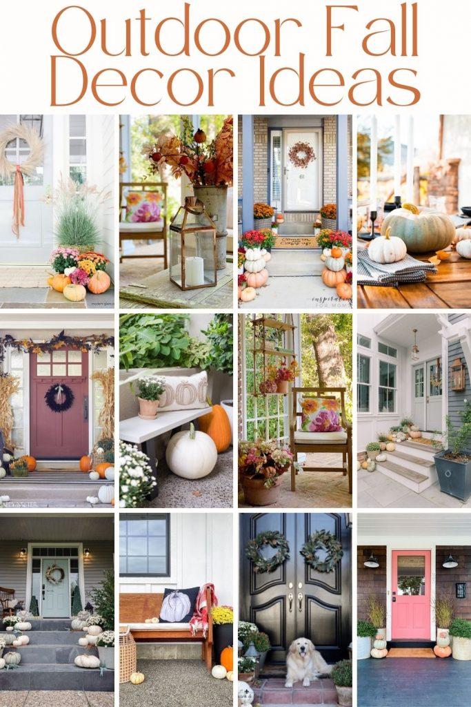 Outdoor Fall Decor Ideas