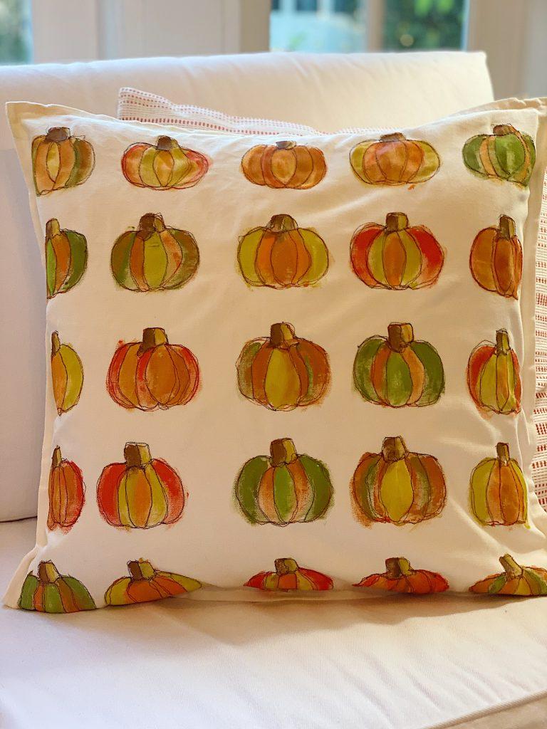 Decor Pumpkin Pillow