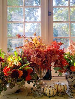 Easy Thanksgiving Flower Arrangements
