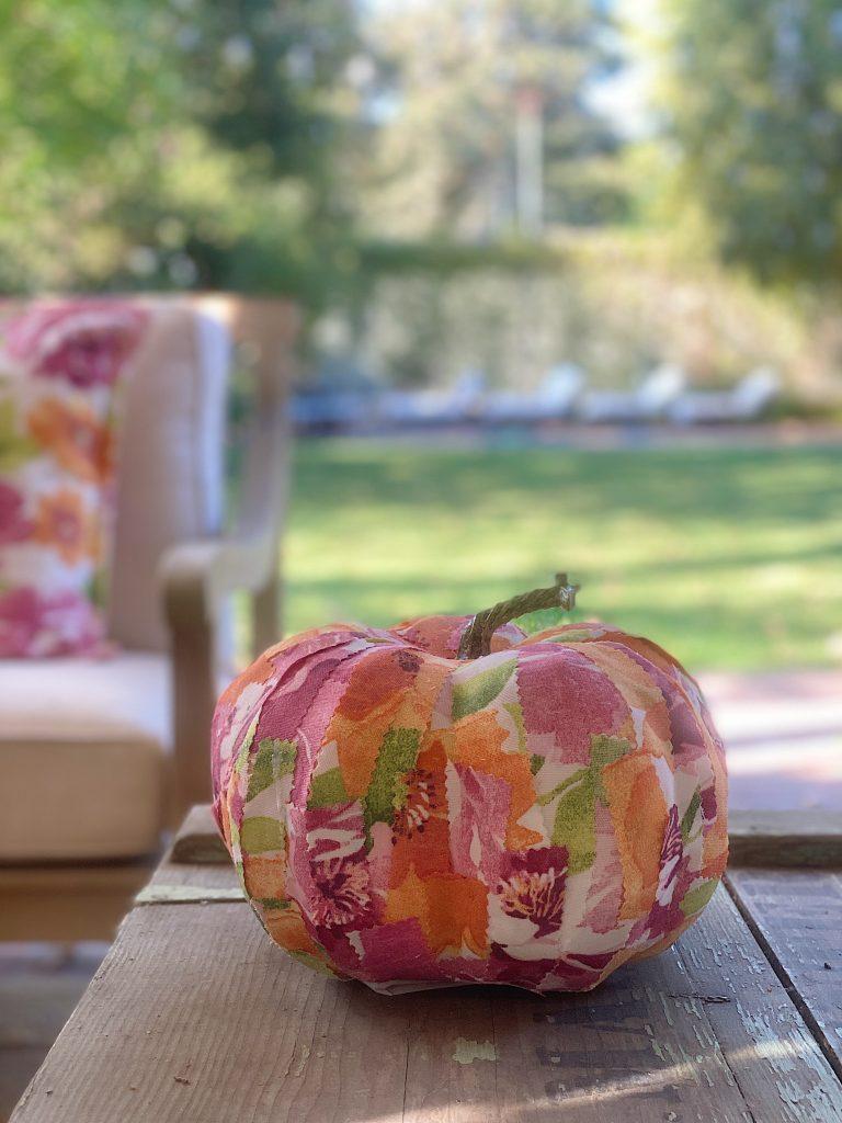 Fall Cinderella Pumpkin