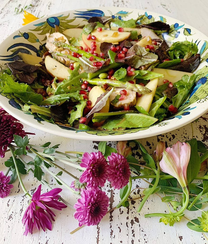 Fall Harvest Salad and Sweet Onion Dressing