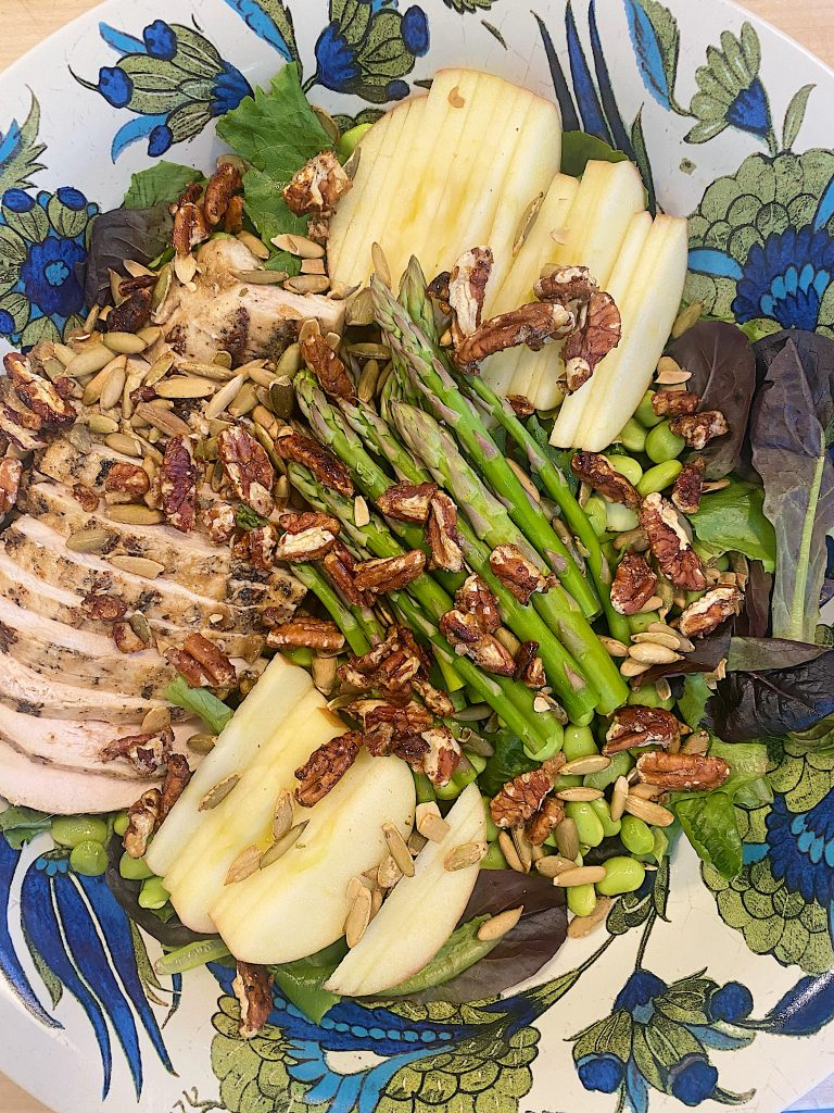 Fall Harvest Salad with Sweet Onion Dressing 4