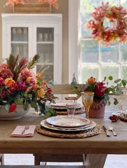 Thanksgiving Dinnerware and Thanksgiving Colors